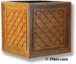 Large Lattice Box Planter