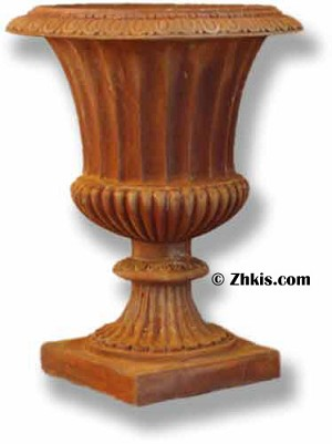 Classic Garden Fluted Urn Large