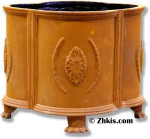 Round Footed Planter Small