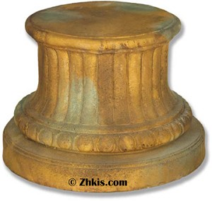 Round Greek Pedestal