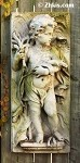 Cherub Wall Plaque Autumn