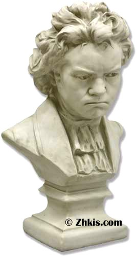 Large Bust of Beethoven