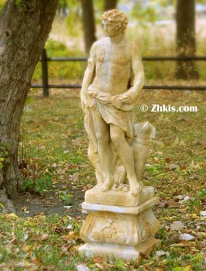 Greek Apollo Statue for Outdoors