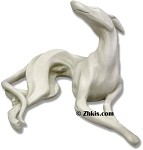 Large Greyhound Dog Statue