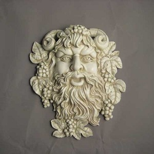 Bacchus of Spring Wall Plaque