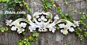 Outdoor Leaf Wall Plaque