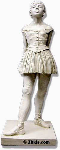 Degas Little  Dancer Statue Large