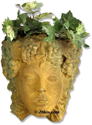 Woman Head Planter