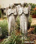 Garden Angel Statue (set)