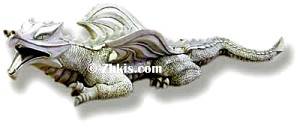 Crawling Dragon Statue Small