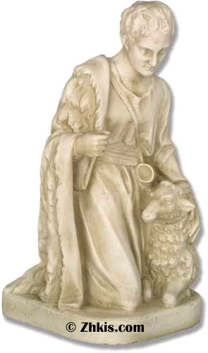 Shepherd Statue For Nativity