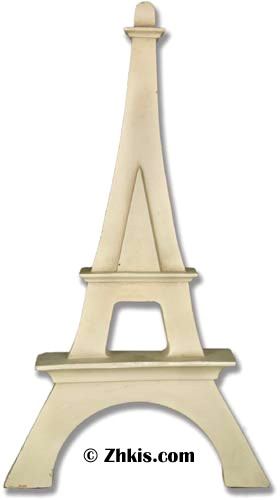 Eiffel Tower Wall Sculpture