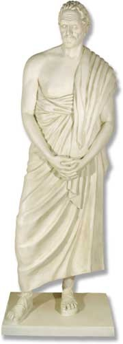 Life Size Demothenes Statue
