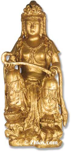 Large Asian Goddess Statue