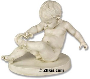 Statue of a Toddler