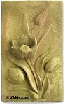 Tulip Wall Plaque