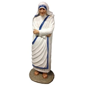 Life Size Mother Teresa Statue in Color
