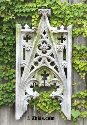 Gothic Architectural Wall Sculpture