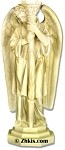 Angel Candle Holder Statue Left