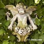 Outdoor Angel Wall Plaque (Right)