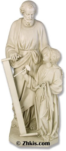 Joseph and Child Jesus Statue