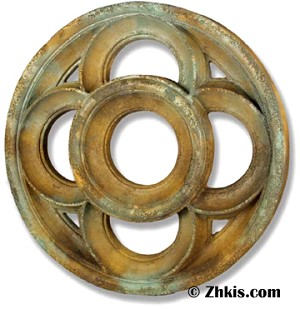 Large Round Wall Sculpture