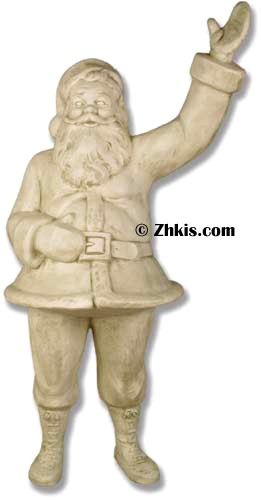 Life Size Santa Clause Statue