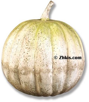 Huge Pumpkin Lawn Ornament