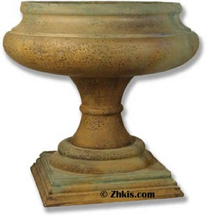 Wine Goblet Style Planter