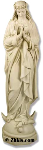 Outdoor Immaculate Conception Mary Statue