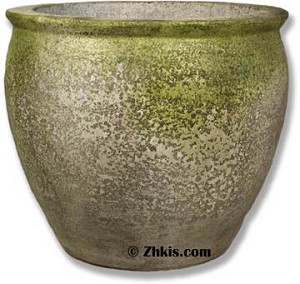 Large Mouth Planter With Rim