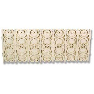 Large Scroll Wall Panel