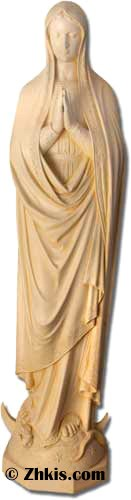 Life Size Praying Mary Statue