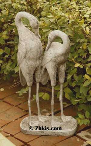 Life Sized Stork Statues
