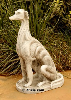 Greyhound Dog Statue