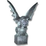 Giant Gargoyle on Statue