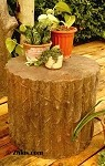 Small Tree Stump Seat or Table