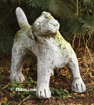 Cute Puppy Dog Statue