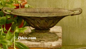 Lattice Style Garden Bowl Small