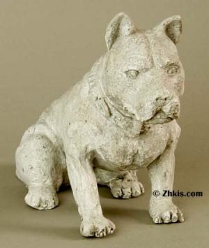 Small Pitbull Statue