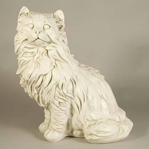 large house cat statue