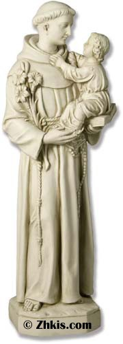 Saint Anthony With Child Statue
