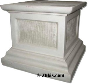 Square Base Pedestal