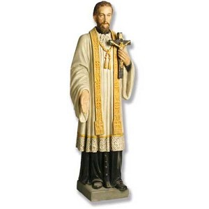 Saint Francis Xavier Statue (in Color)