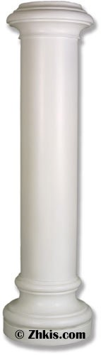Tall Column Pedestal - 6 Foot