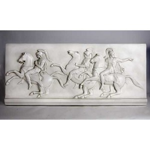 Large Wall Frieze with Horsemen