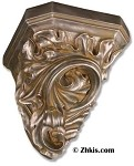 Leafy Wall Shelf Corbel