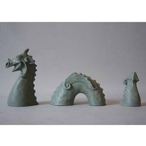 Desk Top Loch Ness Monster Statue
