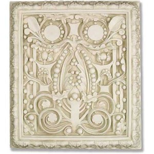 Ornate Wall Plaque