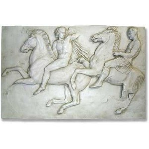 Horsemen Wall Frieze Large